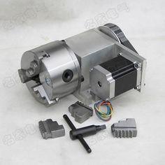 CNC делительная головка, Поворот вращения вала, K11 100 кулачковый патрон