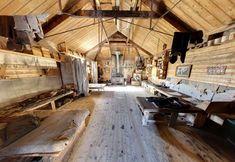 Cabaña de Shackleton, Cabo Royds en la Isla Ross