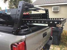 Jeep Discover KB Voodoo AluMax Rack Install with Diamondback Cover - Photo Heavy Click this image to show the full-size version. Overland Gear, Overland Truck, Expedition Truck, Cool Truck Accessories, Truck Accesories, Tacoma Accessories, Truck Bed Slide, Truck Bed Camping, Big Trucks