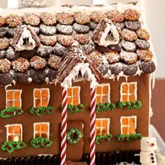 Free template to make the best gingerbread house ever. If you can bake a cookie, you can make this house with easy instructions.
