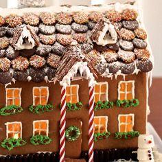 gingerbread village table centrepicce - Pesquisa Google