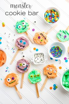 Make-Your-Own Monster Cookie Bar