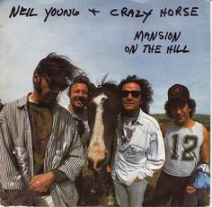 """Neil Young & Crazy Horse, """"Mansion on the Hill,"""" 1990"""