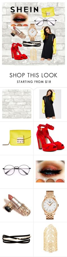 """""""First group contest"""" by jasmine-stepter on Polyvore featuring Furla, Alexander McQueen, Tissot, Kenneth Jay Lane and Kendra Scott"""