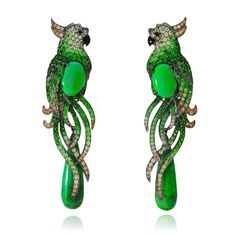 Earrings by Lydia Courteille