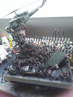 I'm not sure it is finished, but this is a pretty damn awesome diorama.