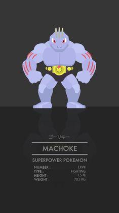 Machoke by WEAPONIX