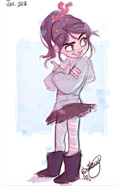 Vanellope von Schweetz FAVORITE CHARACTER OF ALL TIME