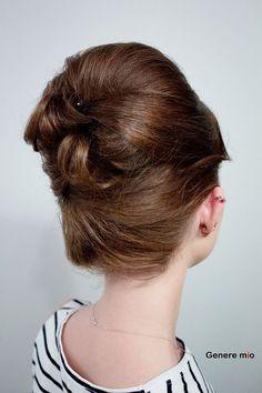 Бабета  #generemio #artofhair #hair #look #бабета #прическа