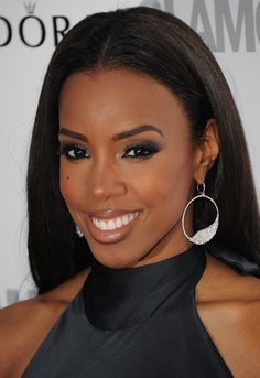 women of color eye makeup | ... with slate gray eye shadow instead of the ususal charcoal or black