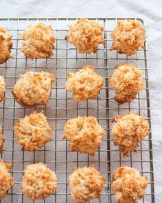 Update! Mad these and everyone loved them. Awesome and easy!! How to Make the Easiest Coconut Macaroons
