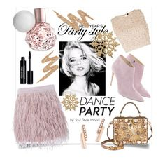 """""""Dance party"""" by yourstylemood on Polyvore featuring Lace & Beads, Ralph Lauren, Zoë Chicco, Dolce&Gabbana, SuperTrash, Urban Decay and Edward Bess"""