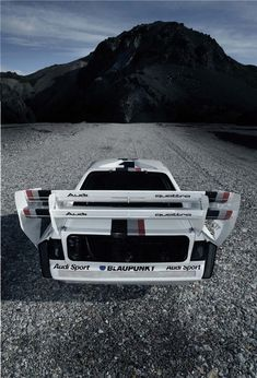 Audi Quattro ready to climb Pikes Peak! Audi Sport, Sport Cars, Race Cars, Audi Motorsport, Car Racer, Motosport, Pikes Peak, Audi Cars, Rally Car