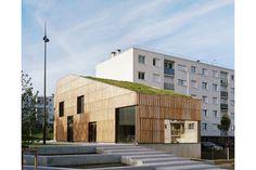 Centre socioculturel 'Christian Marin' I Limeil-Brévannes - Guillaume Ramillien Architecture Urbanisme Illustration