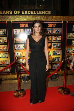 Indian Actress Nidhhi Agerwal At Sakshi Excellence Awards - TOLLYWOOD STARS  IMAGES, GIF, ANIMATED GIF, WALLPAPER, STICKER FOR WHATSAPP & FACEBOOK