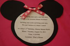 minnie mouse 3rd birthday   Happy 3rd Birthday! A Minnie Mouse Party! (And Buttercream Icing ...