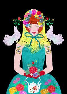 Happy Birthday... YOUNG BABOUSKA | by Sevenstar aka Elisandra