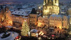 Kerst in Praag is voor echte liefhebbers - Eropuit