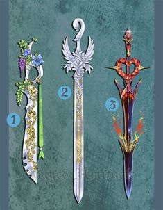 Weapon Adoption 16 Elemental themed Swords CLOSED by Forged-Artifacts.deviantart.com on @DeviantArt