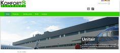 Hemos hecho un proyecto de web komfort green: web, diseño de imagen corporativa. Visita nuestra: www.kgtech.es