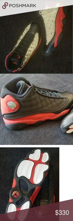 super popular 2d0a4 b2f6d Air Jordan Retro 13 BRED Brand New in the box 2017 release Never worn Air  Jordan Shoes Sneakers