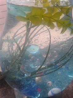 Water,glas,kralen............