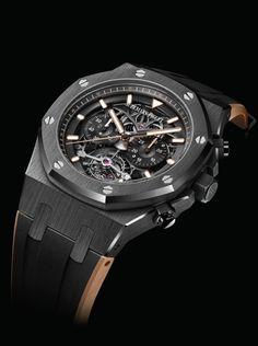 TimeZone : Industry News » SIHH 2018 - Audemars Piguet Royal Oak Tourbillon Chronograph Openworked