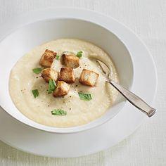 101 Healthy Soup Recipes | Creamy Celeriac Soup  | CookingLight.com