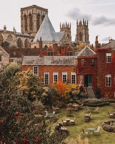 """Andy Duffin on Instagram: """"One of my favourite walks during autumn is around the city walls in York 🏡⛪️🍁🍂⠀ ⠀ The crisp fresh air, the wet stone and seeing the city…"""""""