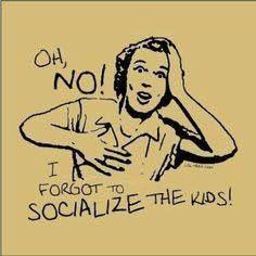 Oh no! I forgot to socialize the kids! #homeschool