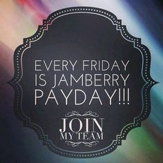 #becauseofjamberry EVERY Friday is #PayYay!