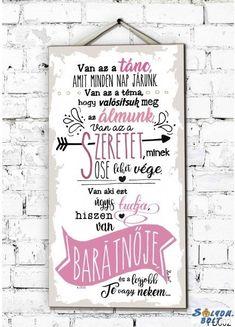 Fali dekor tábla, falikép, A legjobb barátnő vagy nekem Harry Potter, Cute, Decor, Decoration, Kawaii, Decorating, Deco