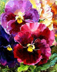 Lieve lente viooltjes Anja been