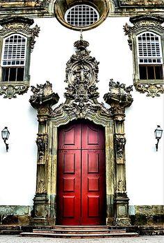 Brazilian Door | Barroco Mineiro