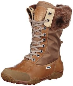 Pajar Women's Garland Boot, Cognac, 38 EU/7-7.5 M US >>> Check out the image by visiting the link.