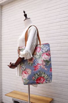 SALE-Waterproof totes Totes bag leather strap zip by Womensgirl