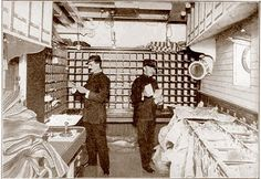 wireless room on the titanic - Google Search