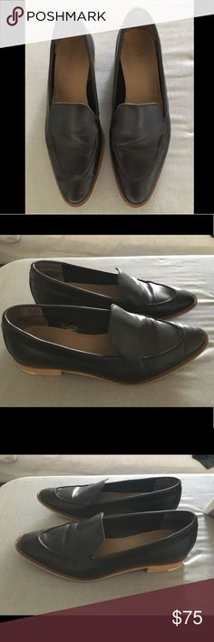 Everlane Modern Loafer 7.5 in Black Barely worn modern Loafers, 10x max so the leather is still pretty stiff. Everlane Shoes Flats & Loafers