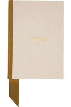 Lanvin | Grosgrain-trimmed canvas notebook | NET-A-PORTER.COM