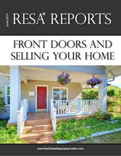 RESA Home Stagers weigh in on best colors to paint your front door to entice buyers!