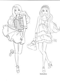 ausmalbilder-barbie-prinzessin-1 | ausmalbilder barbie | ausmalbilder barbie, ausmalen und barbie