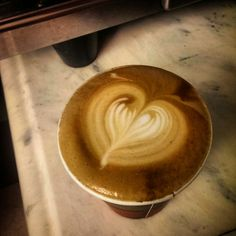 My heart #heart #serce #coffee #latteart #latte #barista