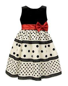 43 Best Ideas Dress Pattern For Little Girls Polka Dots Little Girl Dresses, Girls Dresses, Flower Girl Dresses, Party Dresses, Trendy Dresses, Fashion Dresses, Baby Dress Patterns, Sewing Patterns, Skirt Patterns
