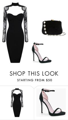 """""""Dark Moon Pack Luna Outfit"""" by bethanyperoff on Polyvore featuring Boohoo and Serpui"""