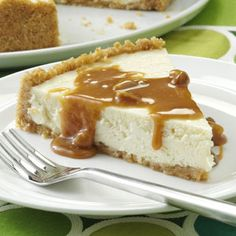 Caramel Cheesecake Recipe from Taste of Home