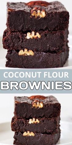 Coconut Flour Brownies, Coconut Flour Cakes, Coconut Flour Recipes Low Carb, Baking With Coconut Flour, Brownie Recipes, Cake Recipes, Dessert Recipes, Dinner Recipes, Gluten Free Desserts