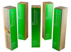 custom eco sustainable awards green