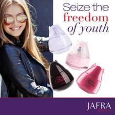 Seize the freedom of youth with Double Nature fragrances. #JAFRA #FreedomToBeYou…