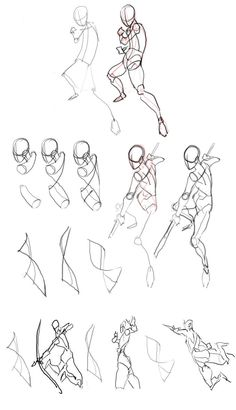 How to draw figure pose ✤ || CHARACTER DESIGN REFERENCES | キャラクターデザイン • Find…