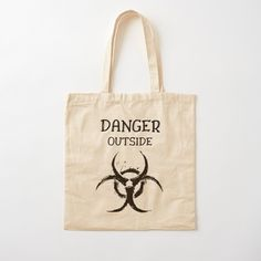 DANGER outside !! Get yourself a unique cool  custom desing from RIVEofficial Redbubble shop : )).... tags: #coronavirus #corona #COVID #disease #lockdown #danger #dangeroutside #stayhome #washhands #blackandwhite #corona2020 #keepcalm #isolation #findyourthing #shirtsonline #trends #riveofficial #favouriteshirts #art #style #design #shopping #redbubble #digitalart #design #fashion #phonecases #customproducts #onlineshopping #accessories #shoponline #onlinestore #shoppingonline Printed Tote Bags, Cotton Tote Bags, Reusable Tote Bags, Wallets For Women Cute, Shopping Bag, Online Shopping, Zipper Pouch Tutorial, Diy Wallet, Backpack For Teens